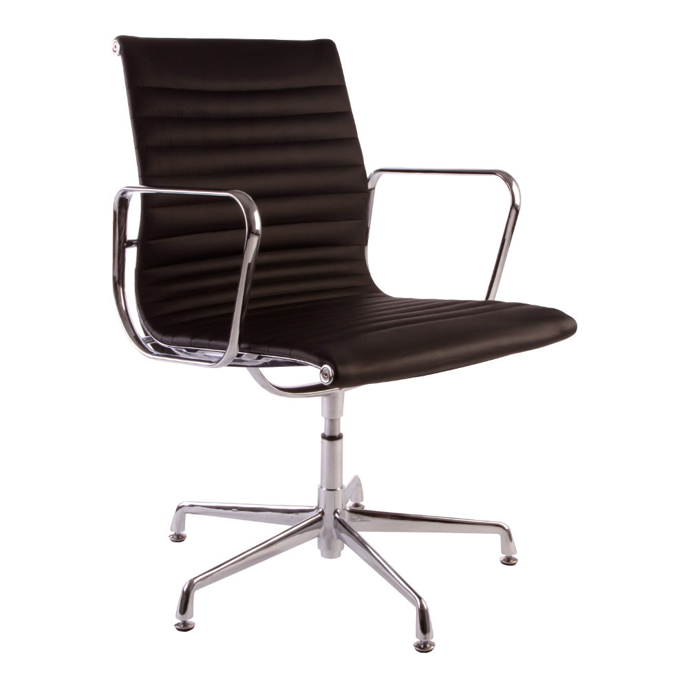eames chair leather. eames leather visitor chair