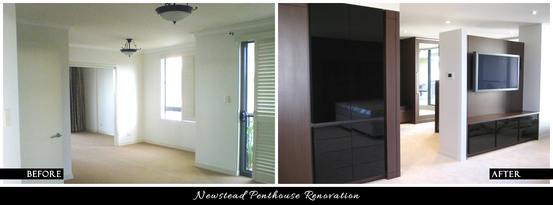 CANDY & CO. - NEWSTEAD RESIDENCE Before & After - Bedroom