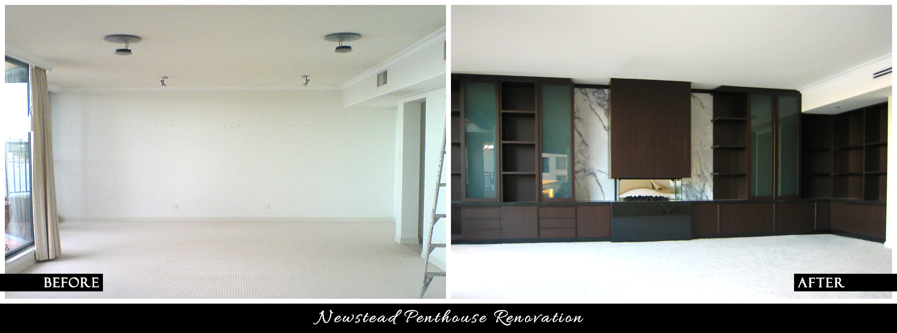 CANDY & CO. - NEWSTEAD RESIDENCE Before & After - Lounge