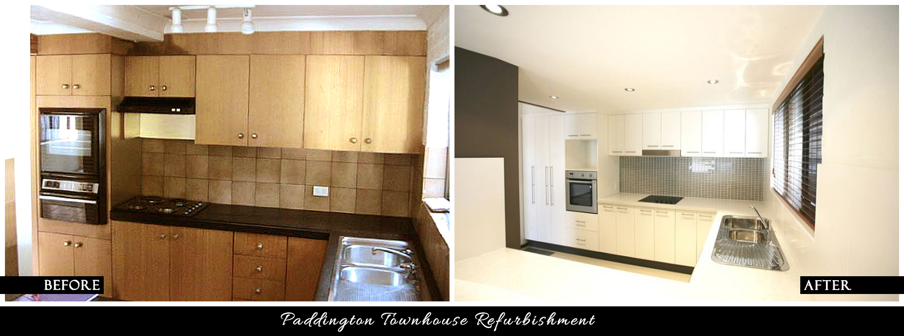 CANDY & CO. - PADDINGTON T.HOUSE Before & After - Kitchen